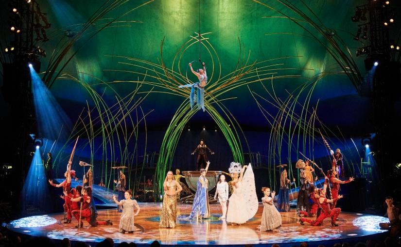 400 pequeños emprendedores y jóvenes de Bogotá que transforman su vida disfrutaron del Cirque Du SoleilAmaluna